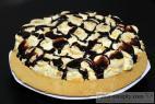 Recept Trepací mandarínková torta s banánom a čokoládou - trepací torta