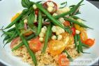 Recept Kuskus - základná príprava - kuskus so zeleninou - návrh na servírovanie