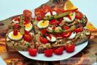 Recept Rýchla pikantná nátierka - rybičková nátierka - návrh na servírovanie