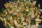 Recept Dvojfarebné kuracie rezančeky - kuracie mäso s fazuľkou - príprava
