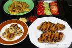 Recept Grilovaná cibuľa - grilovaná cibuľa - návrh na servírovanie