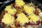 Recept Kuracie pečienky v župane jalapeňos so syrovou čiapkou - pečeň v župane - príprava