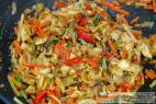 Recept Ázijská kuracia čína na víne s kuskusom - kuracia čína - príprava