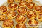 Recept Pizza slimáky so syrom a pršutom - pizza slimáky - postup