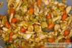 Recept Pikantné vyprážané rezance s kuracím mäsom - smažené rezance - príprava