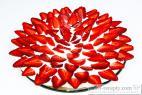 Recept Rýchly ježko s jahodami - jahodová torta