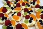 Recept Ovocné košíčky s želatínou - ovocné košíčky