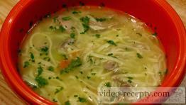 Pravá hydinová polievka