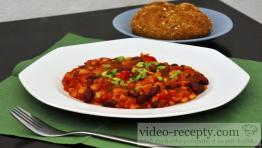 Jemný fazuľový guláš