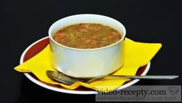 Rýchla šošovicová polievka