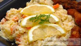 Pikantný zemiakový šalát