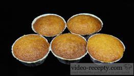 Rýchle vanilkové muffiny