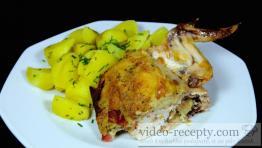 Pikantné grilované kurča s plnkou