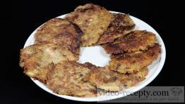 Placky zo zemiakovej kaše s údeným mäsom