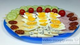 Obložený tanier