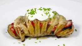 Zapečený zemiak s hermelínom