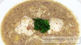 Kôprová polievka s kuriatkami a sázenými vajcami