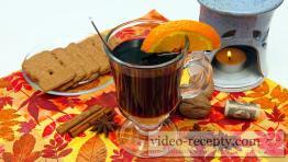 Rýchle rumové varené víno s medom