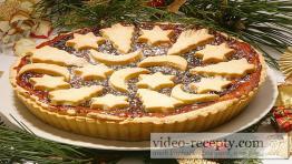 Vianočný linecký koláč