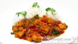 Paradajkove tofu s bazalkou