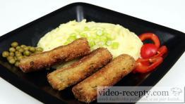 Zeleninové prsty s brokolicou