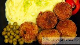 Brokolicové krokety s hráškom