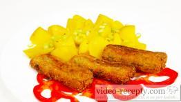 Rybie šišky s karfiolom
