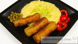 Brokolicové šišky s hráškom