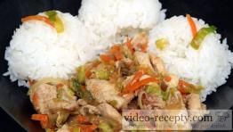 Chrumkavá čína s mrkvou