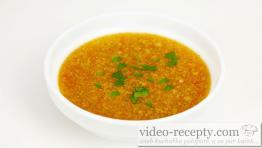Pikantná čínska polievka ako z reštaurácie