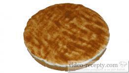 Jablkový pudingový koláč