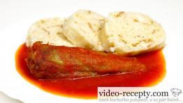 Zapečené papriky s paradajkovou omáčkou bez chémie