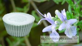 Domáce rozmarínové mydlo s glycerínom zo sadla