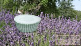 Domáce levanduľové mydlo s glycerínom zo sadla