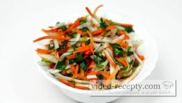 Zeleninový šalát s valeriánom